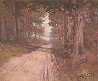 wooded lane by william c. emerson