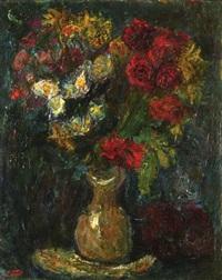 flower vase by moshe castel