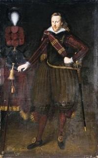 portrait of captain sir michael everid by george geldorp