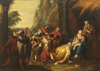 l'adoration des mages by frans francken the younger