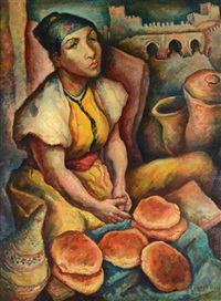 the bread seller by george baer