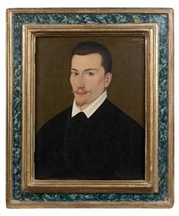 portrait d'homme en buste by françois quesnel