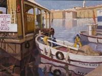 l embarcadère du quai des belges by jean pesce