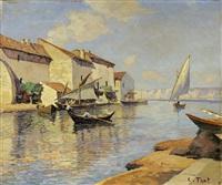 village de pêcheurs, le martigues by constantin font