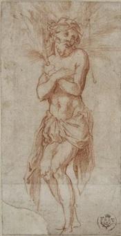 le christ aux outrages d'après dürer by jonas humbach