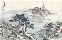 采梅图 by ren zhenhan