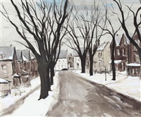 lowther avenue, toronto by albert jacques franck