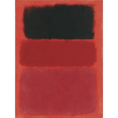 untitled redblack by mark rothko