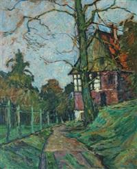 paysage campagnard by jacinthe pozier