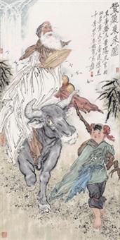 紫气东来图 by li yongwen