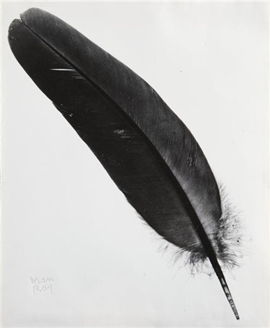 feather by man ray