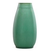 tall prairie school vase by teco
