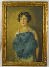 portrait of mabel souvaine by arthur r. freedlander