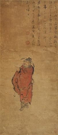 钟馗图 by zhong kui
