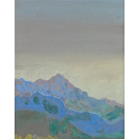 mountain pass italy by arthur bowen davies