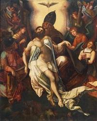 la trinità by paolo di mariano di tuccio taccone