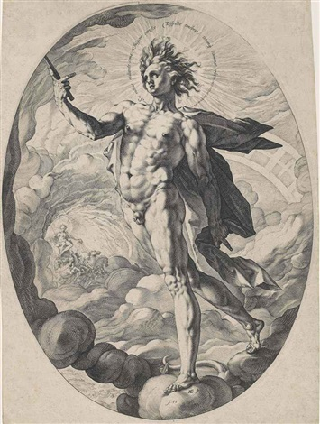 apollo by hendrik goltzius