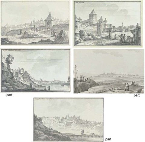 the entrance to the city of bender 4 other views of bender 5 works by giacomo quarenghi