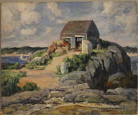 the lobster shed along the shore by edmund f. ward