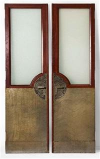paire de grandes portes (pair) by de coene