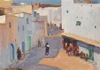 a street in tangier by john lavery