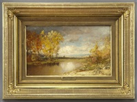 hudson river landscape by patrick vincent berry