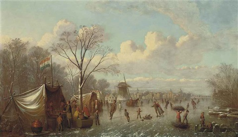 selling refreshments on the ice by johann mongels culverhouse