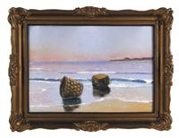kosze rybackie na plaży by soter jaxa-malachowski