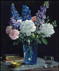spring flowers by richard jack