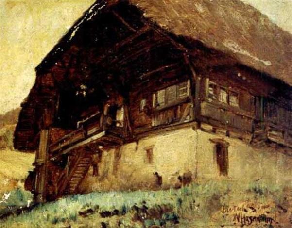 chalet by wilhelm g hasemann