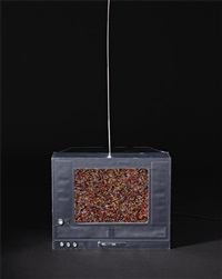 untitled (t.v. sprinkles) by tom friedman