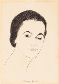 portrait de maria lani by francis picabia