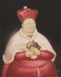 el cardenal by fernando botero