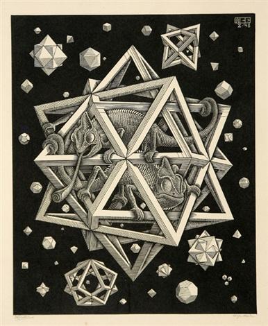 stars by m c escher