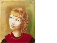 jeune fille rousse by moïse kisling