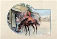 le gendarme de la reine by george bertin scott