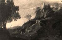 paysage classique animé by gabriel perelle