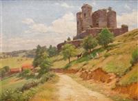 le château de domeyrat en haute-loire by alfred renaudin