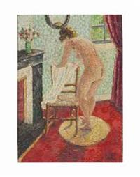 jeune femme à la toilette by camille lesne