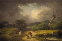 der sturm by george morland