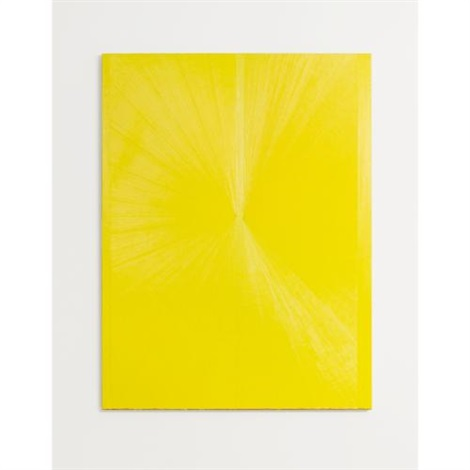 untitled yellow butterfly iii by mark grotjahn