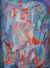 la foule en liesse by andré lanskoy