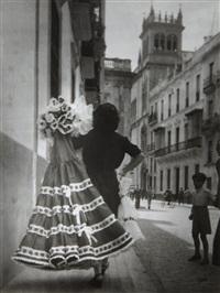 robe à volants pour feria à seville by brassaï