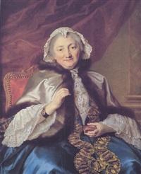 portrait de madame geoffrin by pierre allais