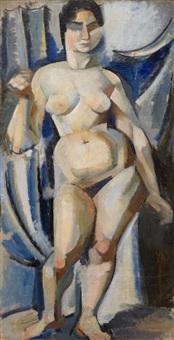 standing nude by torstein torsteinson
