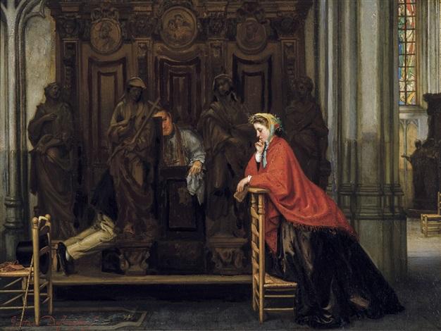 la confession by gustave léonhard de jonghe