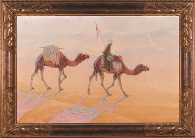 poczta królewska kharga oasis by aleksander laszenko