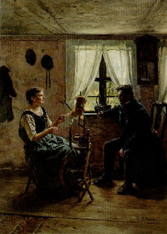 at the spinning wheel by ernst henseler