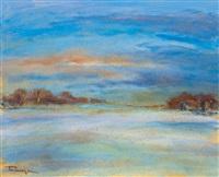under blue sky by jános tornyai