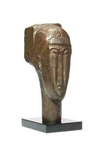 tête à la frange by amedeo modigliani